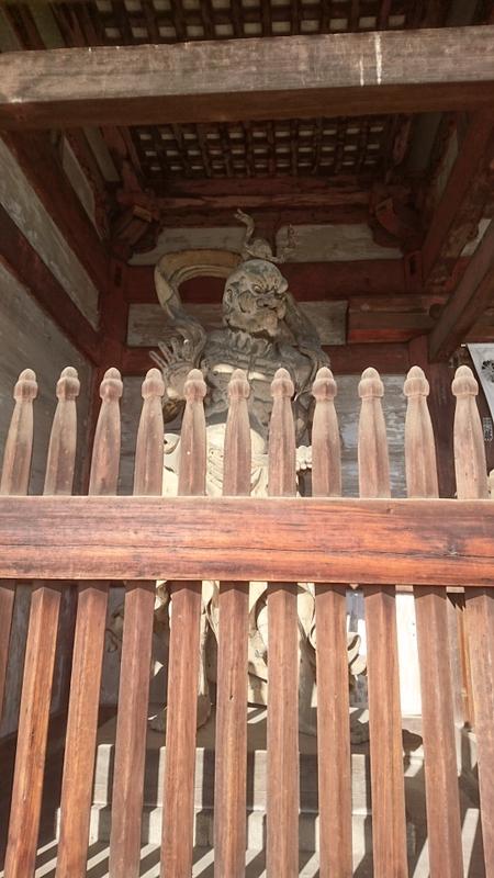 清凉寺(嵯峨釈迦堂)仁王門の立像