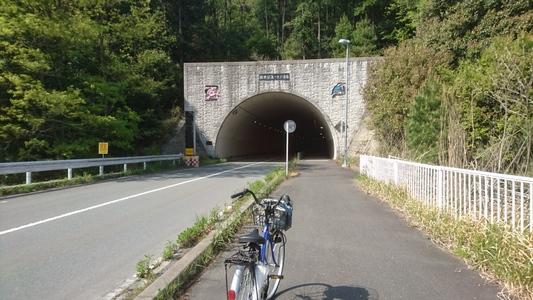 新世紀第一トンネル に入ります