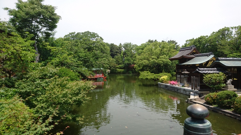 京都市、神泉苑