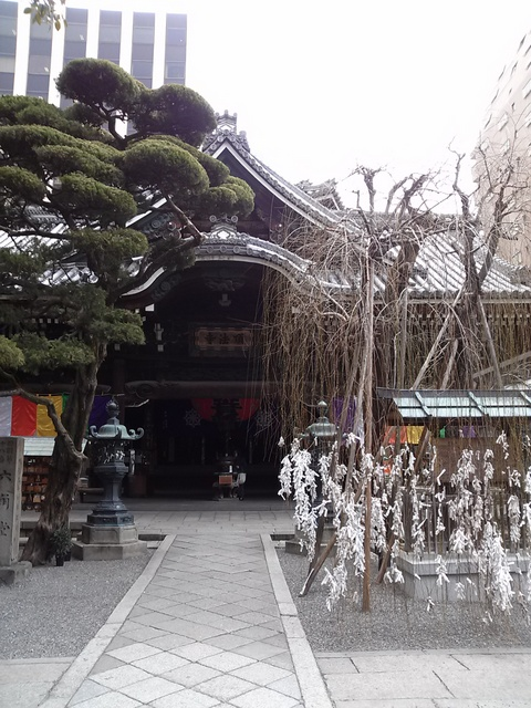 京都市中京区六角通の「六角堂」