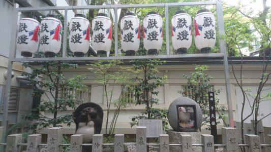 露 天神社[つゆのてんじんじゃ](通称:お初天神)