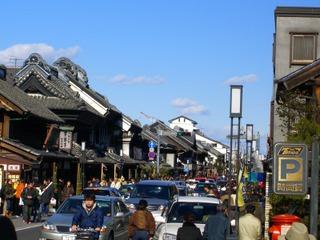 「小江戸」川越、観光客で賑わってました